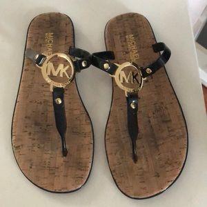 Michael Kors cork/jelly sandals